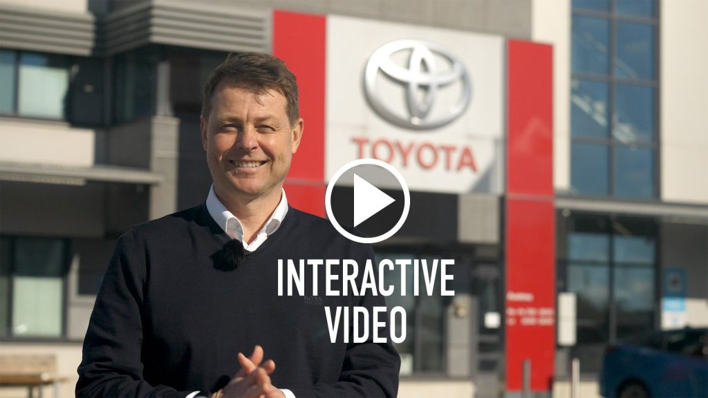 Toyota interactive video