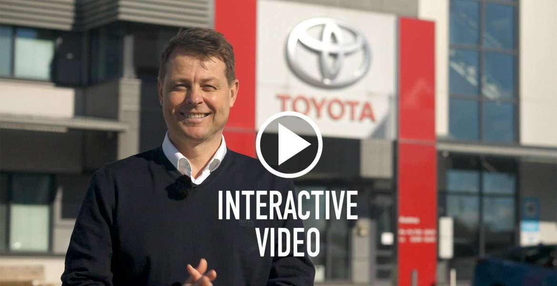 Toyota - Interaktiivinen yritysautojen esittely